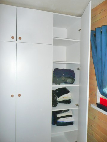 purpose made wardrobes