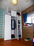 fitted painted wardrobes